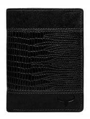 Buffalo Wild Nadčasová pánská kožená peněženka Jim, černá