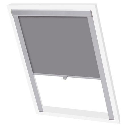 shumee Senčilo za zatemnitev okna sive barve 102