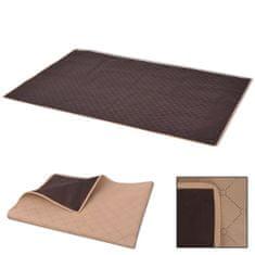 shumee piknik takaró 100x150 cm bézs és barna