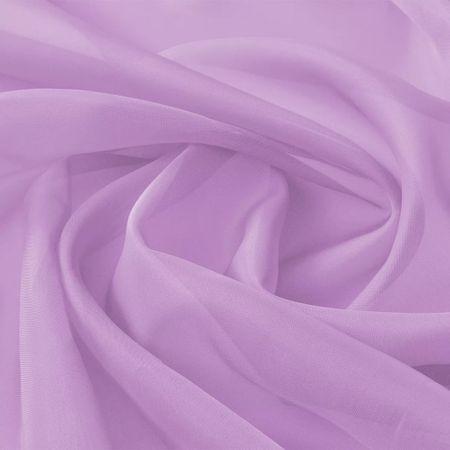 shumee Tkanina woal 1,45 x 20 m, kolor liliowy