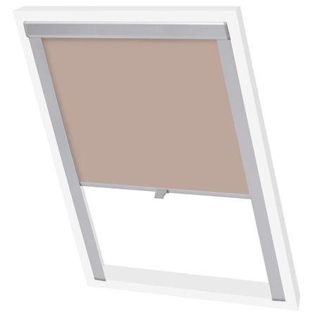slomart Senčilo za zatemnitev okna bež MK04