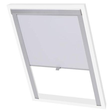 slomart Senčilo za zatemnitev okna belo MK06