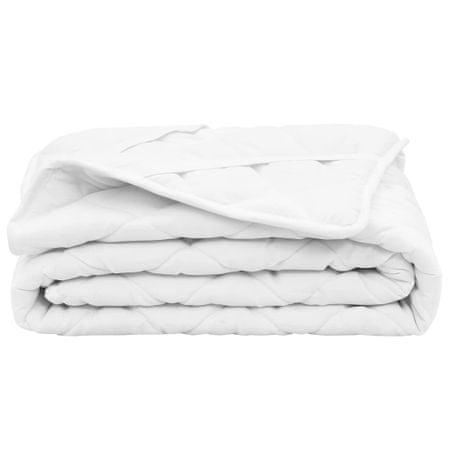 shumee fehér steppelt könnyű matracvédő 90 x 200 cm
