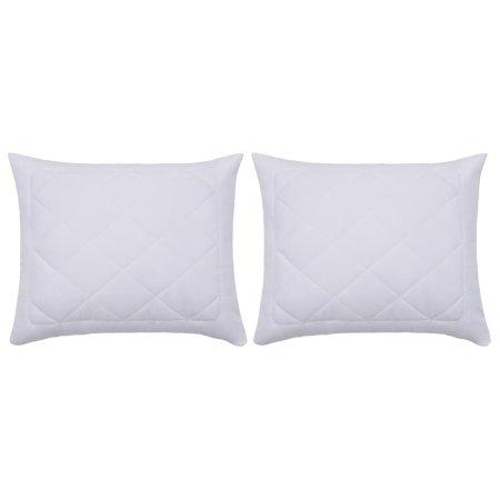Poszewki ochronne na poduszki, 2 szt., 80 x 80 cm, białe