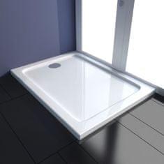 shumee Obdélníková sprchová vanička ABS 80 x 100 cm