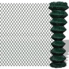 shumee Drátěné pletivo pozinkovaná ocel 1,5 x 15 m zelené