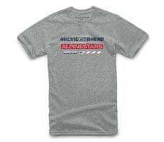 Alpinestars tričko World Tour grey