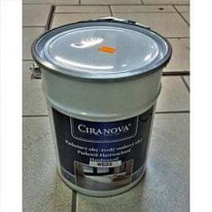 Ciranova Parketový tvrdý voskový olej, BIELY, matný, balenie 5 lt
