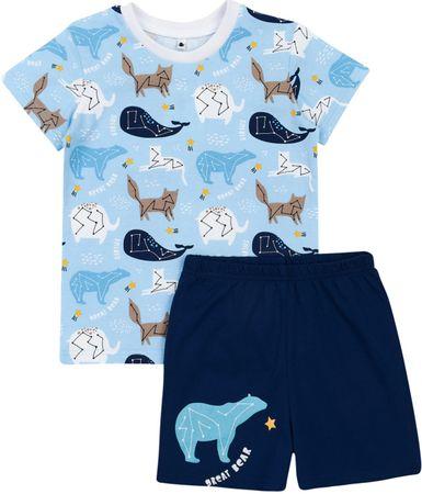 Garnamama Star fantovska pižama, modra, 104
