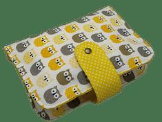 Šišipu Sada plenkovníku a obalu na očkovací průkaz Žluté sovy