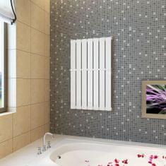 Bierly vykurovací panelový regál na uteráky 542mm + vykurovací panel 542 mm x 900 mm