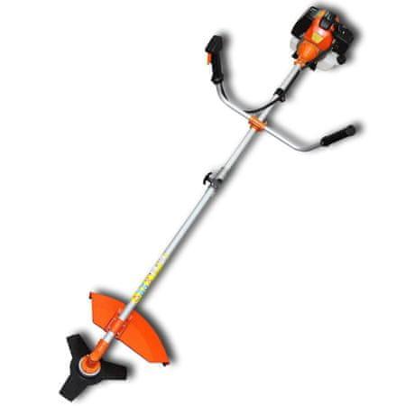 shumee Obrezovalnik grmičevja in trave 51,7 cc oranžni 2,2 kW