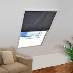 Plisowana moskitiera okienna, 160 x 80 cm