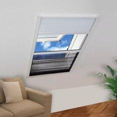 Plisowana moskitiera okienna, 160 x 110 cm, z osłoną