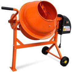 shumee Elektrická míchačka 63 l, 220 W, oranžová