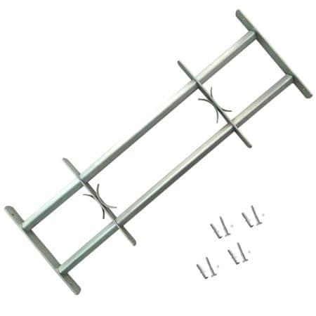 shumee Nastavljiva okenska rešetka z 2 prečkama 1000-1500 mm