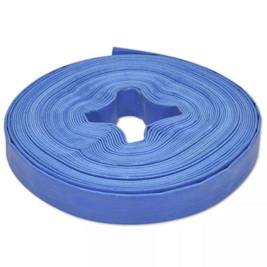 """Plochá hadica 25 m, 1"""", PVC, na prepravu vody"""