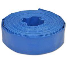 """Plochá hadica 25 m, 2"""", PVC, na prepravu vody"""