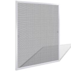Biała moskitiera przeciw insektom 80 x 100 cm