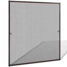 Brązowa moskitiera przeciw insektom 120 x 140 cm