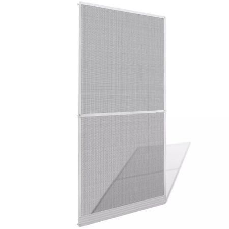 shumee Fehér csukló ajtós szúnyogháló 100 x 215 cm