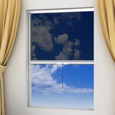 Moskitiera zwijana na okna 100 x 170 cm, biała
