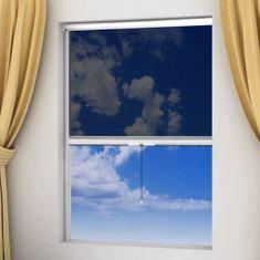 Moskitiera zwijana na okna 80 x 170 cm, biała
