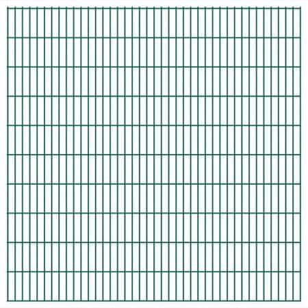 Panele ogrodzeniowe 2D - 2008x2030 mm 36 m Zielone