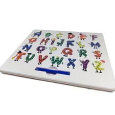MagPad Magnetická kreslící tabulka MagPad - zábavná abeceda