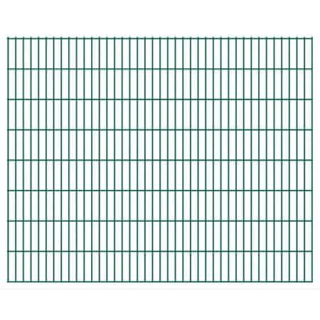 2D Panele ogrodzeniowe 2008x1630 mm 50 m, zielone