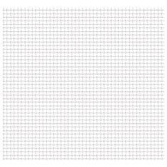 shumee Zahradní pletivo vlnitá mřížka nerez ocel 50 x 50 cm 11x11x2 mm