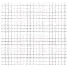 shumee Zahradní pletivo vlnitá mřížka nerez ocel 50 x 50 cm 31x31x3 mm