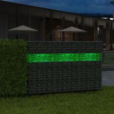 shumee gabion kerti üveg kő zöld 60-120 mm 25 kg