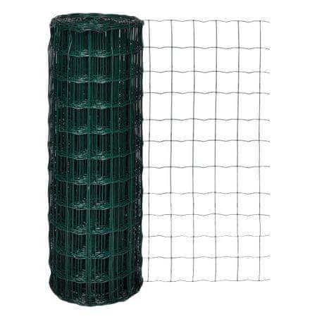 shumee Euro Fence zöld acélkerítés 10 x 1,7 m