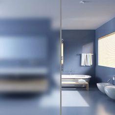 shumee Matná okenná fólia na vytvorenie súkromia, mliečne sklo, lepiaca, 0,9 x 50 m