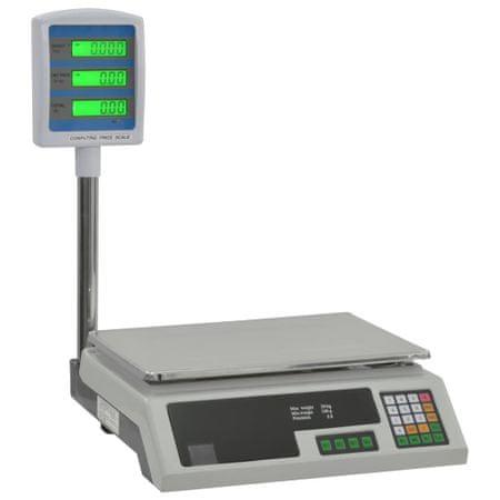 Elektroniczna waga z wyświetlaczem LCD, 30 kg