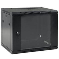 "Ścienna szafka serwerowa (rack) 9U, 19"", IP20, 600x450x500 mm"