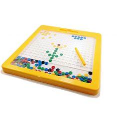 Magnetická kreativní tabulka MagArt - Žlutá