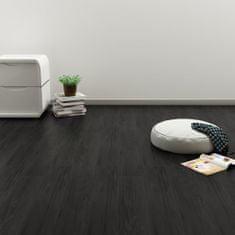 Vidaxl Samolepící podlahová prkna 4,46 m² 3 mm PVC dub antracitová