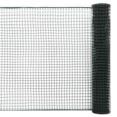 shumee Zahradní plotové pletivo HDPE 10 x 1,2 m zelené