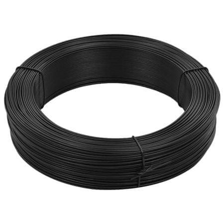 shumee antracitszürke acél kerítésösszekötő drót 250 m 0,9/1,4 mm