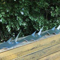 Hroty na zeď 2 ks ocel 1 m