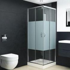 Kabina prysznicowa, bezpieczne szkło, 90x70x180 cm