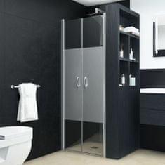 Drzwi prysznicowe, półmatowe, ESG, 70 x 185 cm