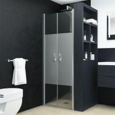 Drzwi prysznicowe, półmatowe, ESG, 75 x 185 cm