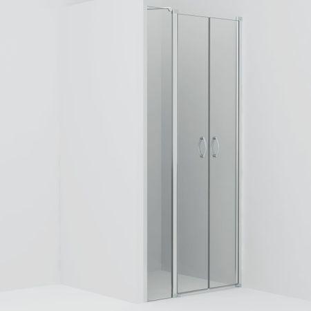 Drzwi prysznicowe, przezroczyste, ESG, 120 x 185 cm