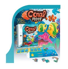 Smart Games Koraljni greben, 48 izazova, magnetna putna igra