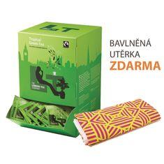 London Tea Company Fairtrade zelený čaj Sencha s tropickým ovocím Tropical Green 250ks + bavlnená utierka zadarmo
