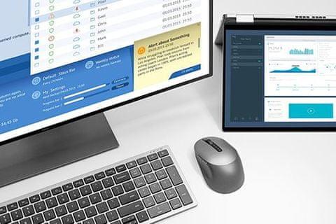 Bezdrátová sada myši a klávesnice Dell KM7120W