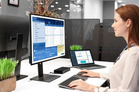 Sada myši a klávesnice Dell KM7120W, bezdrátová